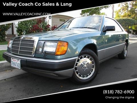 1988 Mercedes-Benz 300-Class for sale at Valley Coach Co Sales & Lsng in Van Nuys CA