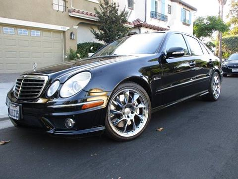 2009 Mercedes-Benz E-Class for sale at Valley Coach Co Sales & Lsng in Van Nuys CA
