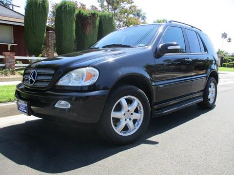 2004 Mercedes-Benz M-Class for sale at Valley Coach Co Sales & Lsng in Van Nuys CA