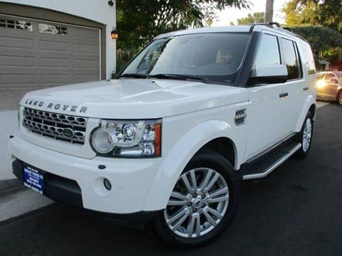 2010 Land Rover LR4 for sale at Valley Coach Co Sales & Lsng in Van Nuys CA