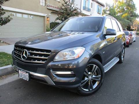2012 Mercedes-Benz M-Class for sale at Valley Coach Co Sales & Lsng in Van Nuys CA