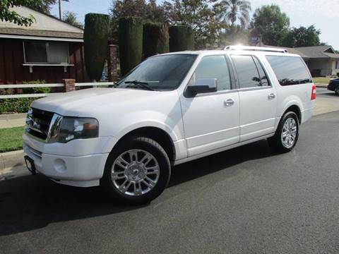 2011 Ford Expedition EL for sale at Valley Coach Co Sales & Lsng in Van Nuys CA