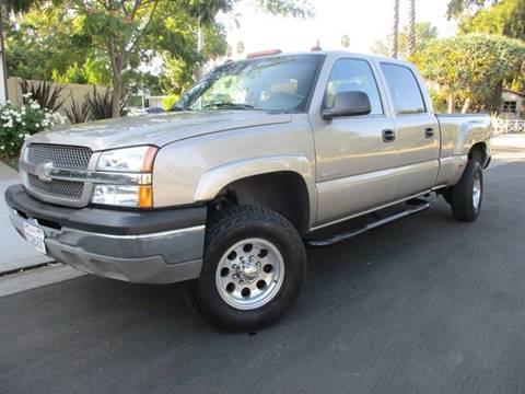 2003 Chevrolet Silverado 1500HD for sale at Valley Coach Co Sales & Lsng in Van Nuys CA