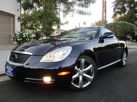 2010 Lexus SC 430 for sale at Valley Coach Co Sales & Lsng in Van Nuys CA
