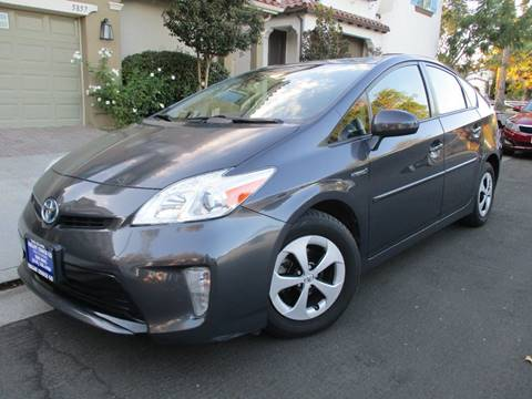 2013 Toyota Prius for sale at Valley Coach Co Sales & Lsng in Van Nuys CA