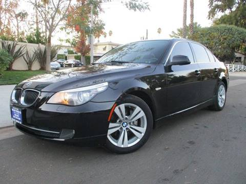 2010 BMW 5 Series for sale at Valley Coach Co Sales & Lsng in Van Nuys CA