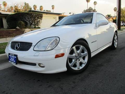 2001 Mercedes-Benz SLK for sale at Valley Coach Co Sales & Lsng in Van Nuys CA