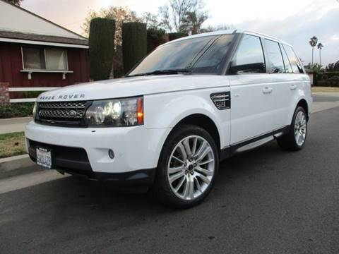 2013 Land Rover Range Rover Sport for sale at Valley Coach Co Sales & Lsng in Van Nuys CA