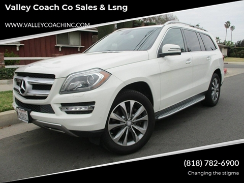 2013 Mercedes-Benz GL-Class for sale at Valley Coach Co Sales & Lsng in Van Nuys CA