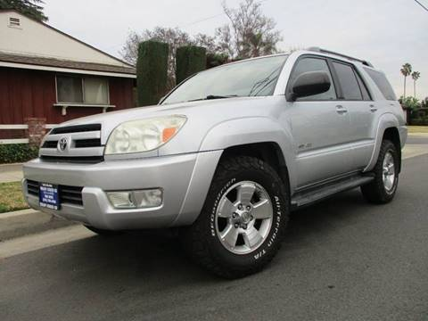 2004 Toyota 4Runner for sale at Valley Coach Co Sales & Lsng in Van Nuys CA