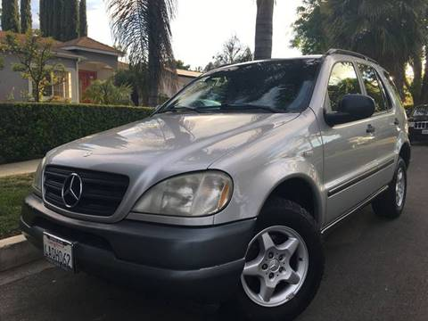 1998 Mercedes-Benz M-Class for sale at Valley Coach Co Sales & Lsng in Van Nuys CA