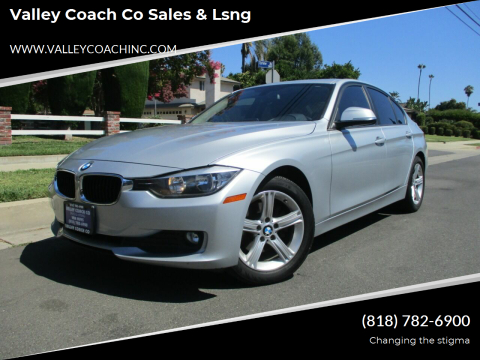 2014 BMW 3 Series for sale at Valley Coach Co Sales & Lsng in Van Nuys CA