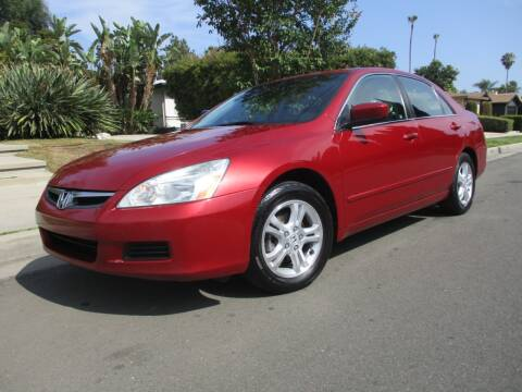 2007 Honda Accord for sale at Valley Coach Co Sales & Lsng in Van Nuys CA