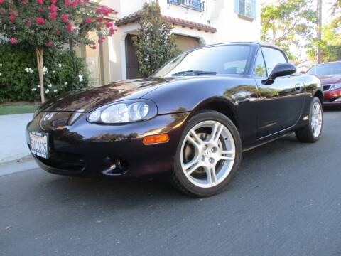 2005 Mazda MX-5 Miata for sale at Valley Coach Co Sales & Lsng in Van Nuys CA
