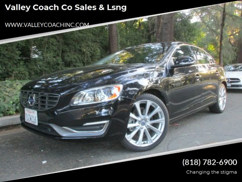 2016 Volvo S60 for sale at Valley Coach Co Sales & Lsng in Van Nuys CA