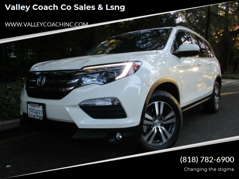 2016 Honda Pilot for sale at Valley Coach Co Sales & Lsng in Van Nuys CA