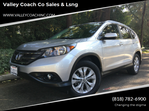 2014 Honda CR-V for sale at Valley Coach Co Sales & Lsng in Van Nuys CA