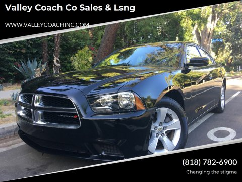 2013 Dodge Charger for sale at Valley Coach Co Sales & Lsng in Van Nuys CA