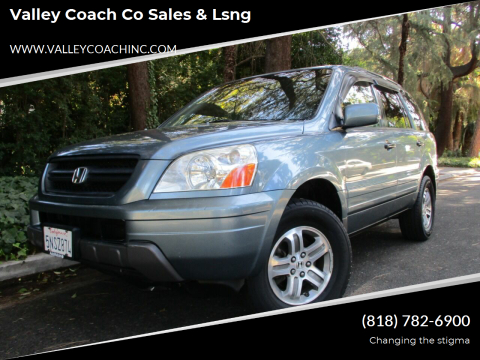 2005 Honda Pilot for sale at Valley Coach Co Sales & Lsng in Van Nuys CA
