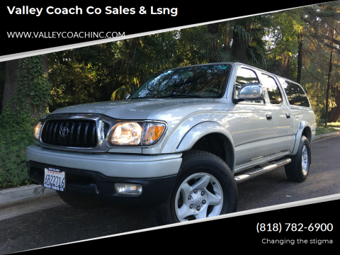 2001 Toyota Tacoma for sale at Valley Coach Co Sales & Lsng in Van Nuys CA