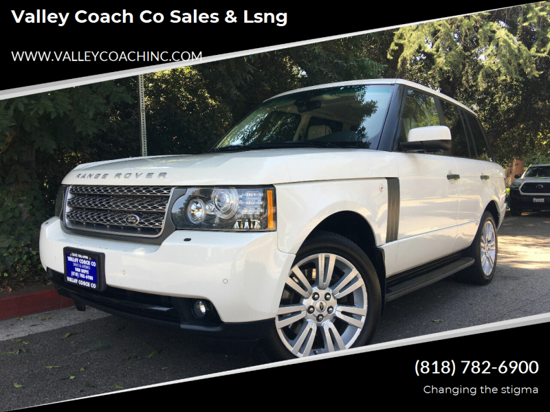 2010 Land Rover Range Rover for sale at Valley Coach Co Sales & Lsng in Van Nuys CA