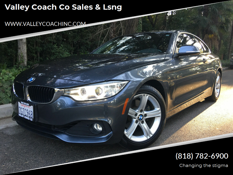 2015 BMW 4 Series for sale at Valley Coach Co Sales & Lsng in Van Nuys CA