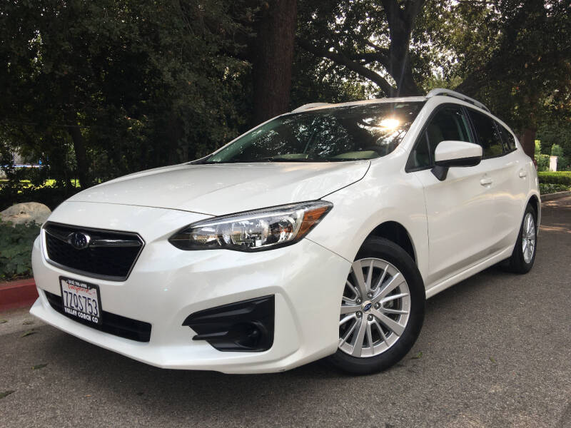 2017 Subaru Impreza for sale at Valley Coach Co Sales & Lsng in Van Nuys CA