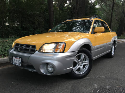 2003 Subaru Baja for sale at Valley Coach Co Sales & Lsng in Van Nuys CA