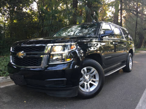 2016 Chevrolet Suburban for sale at Valley Coach Co Sales & Lsng in Van Nuys CA
