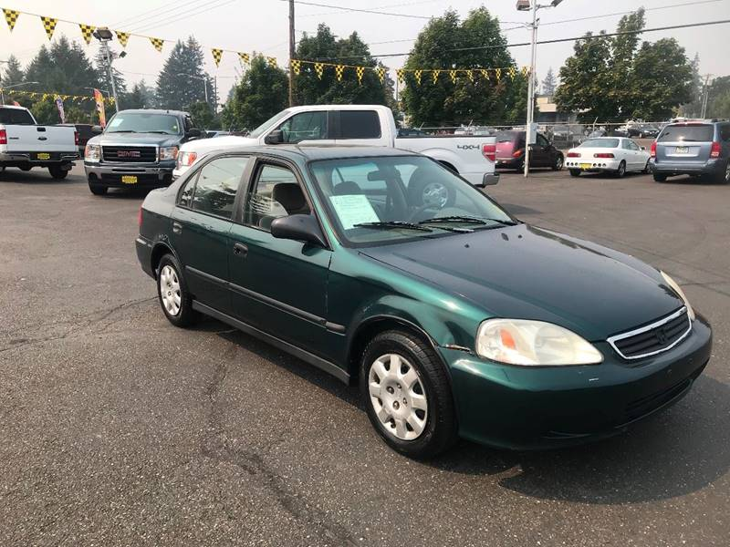 1999 Honda Civic DX 4dr Sedan   Lakewood WA