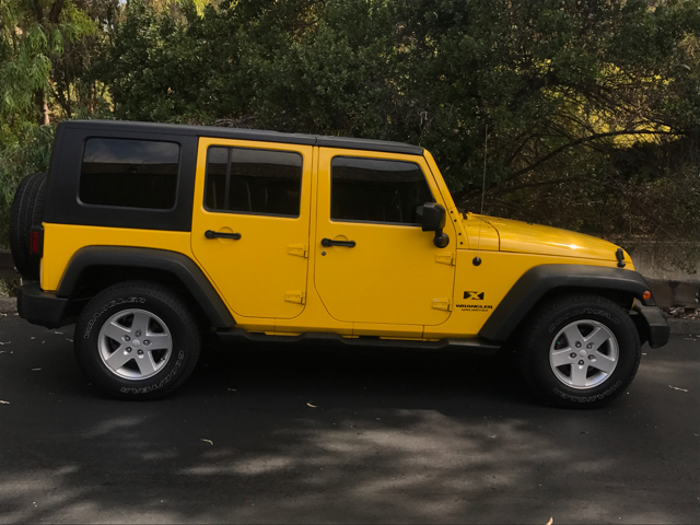 2008 Jeep Wrangler Unlimited for sale at Auto Gallery in Hayward CA