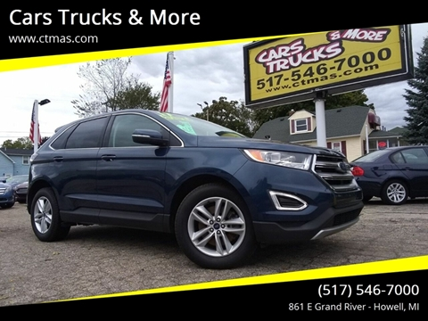 2017 Ford Edge for sale in Howell, MI