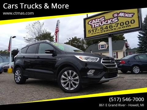2017 Ford Escape for sale in Howell, MI