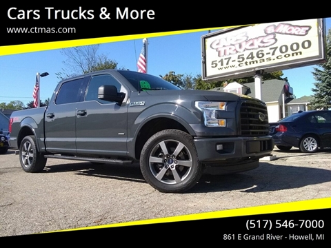 2016 Ford F-150 for sale in Howell, MI