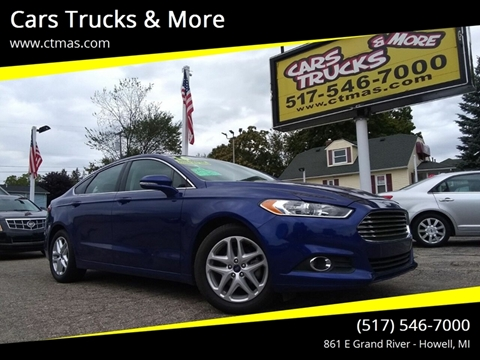 2016 Ford Fusion for sale in Howell, MI