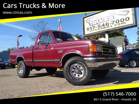 1989 Ford F-150 for sale in Howell, MI