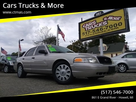 2010 Ford Crown Victoria for sale in Howell, MI