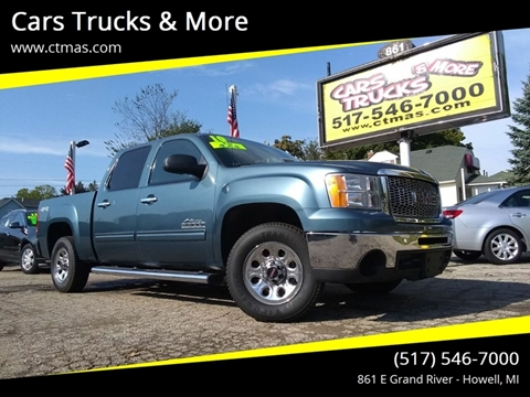 2010 GMC Sierra 1500 for sale in Howell, MI