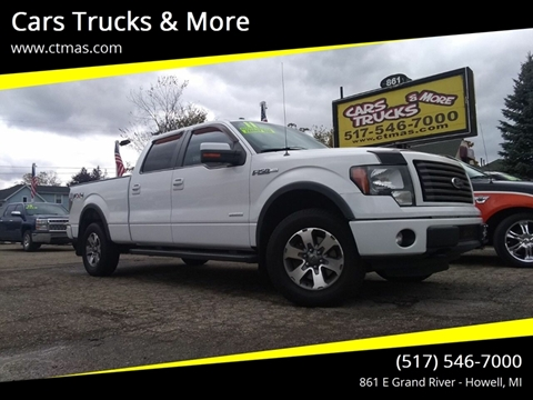 2011 Ford F-150 for sale in Howell, MI