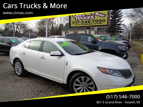 2013 Lincoln MKS for sale in Howell, MI