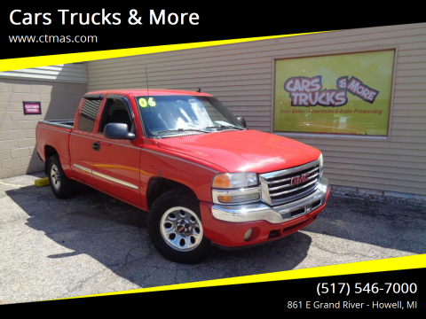2006 GMC Sierra 1500 for sale at Cars Trucks & More in Howell MI