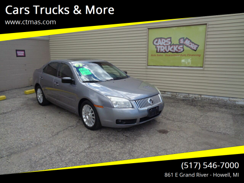 2007 Mercury Milan for sale at Cars Trucks & More in Howell MI