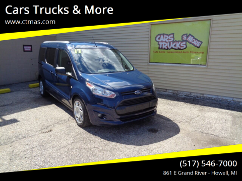 2017 Ford Transit Connect Wagon for sale at Cars Trucks & More in Howell MI