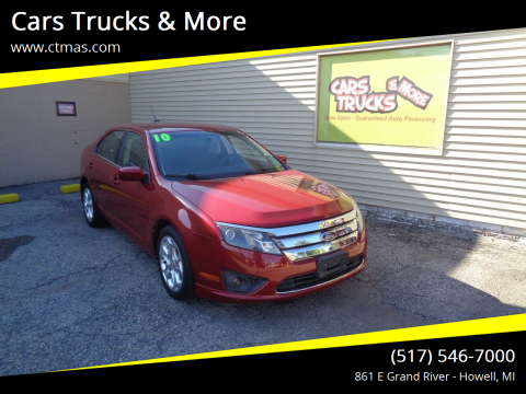 2010 Ford Fusion for sale at Cars Trucks & More in Howell MI