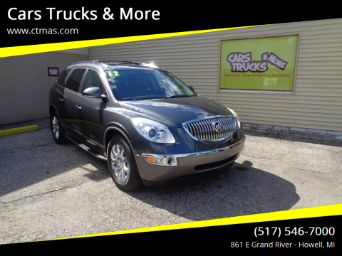 2012 Buick Enclave for sale at Cars Trucks & More in Howell MI