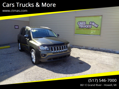 2016 Jeep Compass for sale at Cars Trucks & More in Howell MI