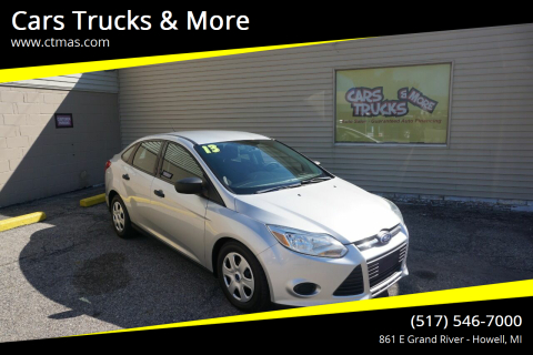 2013 Ford Focus for sale at Cars Trucks & More in Howell MI