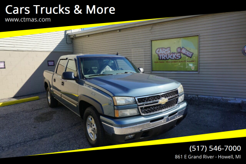 2006 Chevrolet Silverado 1500 for sale at Cars Trucks & More in Howell MI