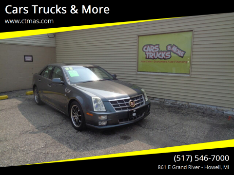 2008 Cadillac STS for sale at Cars Trucks & More in Howell MI