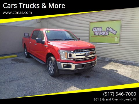 2018 Ford F-150 for sale at Cars Trucks & More in Howell MI